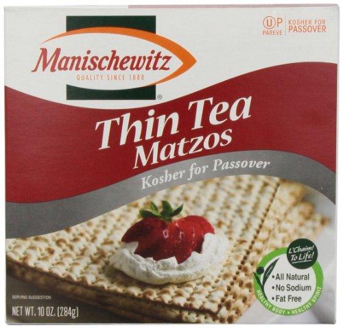 Manischewitz Matzo Thin Tea, 10 oz (Matzo Thins)