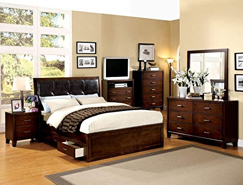 24 7 Shop at Home 247SHOPATHOME IDF-7068D FA-CM7068D Dresser, Walnut