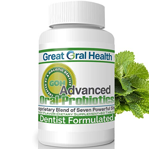 Chewable Oral Probiotics~Dentistmulated 60