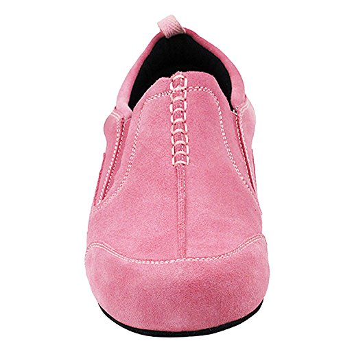 701bbx of Thick Pigeon Suede Heel~ Salsa by Shoes Swing Practice Cuban Women Party Dress Shoes 50 Latin Theather Shades Party Ballroom Tango Gold Teaching Collection Art Dance Pink wIXq4X