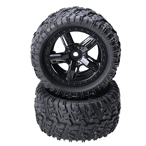 Price comparison product image Quickbuying REMO 1/16 P6973 Rubber Tires Assembly For Desert Buggy Truck