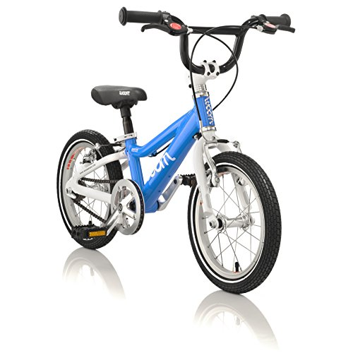 """5c33d144320 woom 2 Pedal Bike 14"""", Ages 3 to 4.5 Years, Blue 