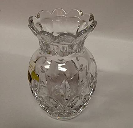 Amazon Val Saint Lambert Crystal 5 Pineapple Bud Vase Home