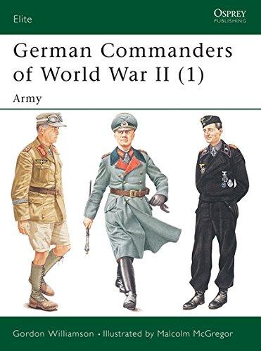 German Commanders of World War II (1): Army (Elite) pdf