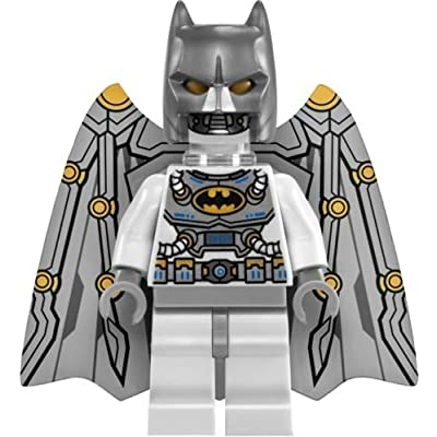 Lego DC Universe Super Heroes Space Batman Minifigure from 76025: Toys & Games