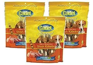 Amazon.com : (3 Pack) Cadet Triple Flavored Dog Treat