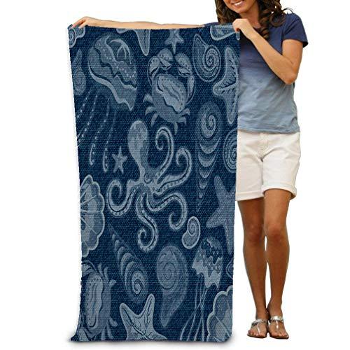 Xunulyn Bath Towel Cool Soft Beach Towel 31