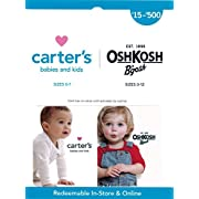 Carter's/OshKosh B'gosh Gift Card $50