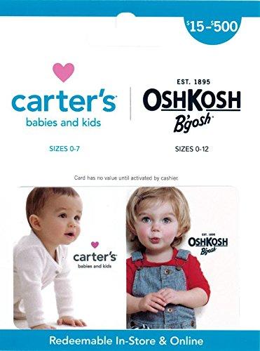 Carters OshKosh Bgosh Gift Card
