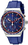 Swatch Men's YVS417 Analog Display Quartz Blue Watch