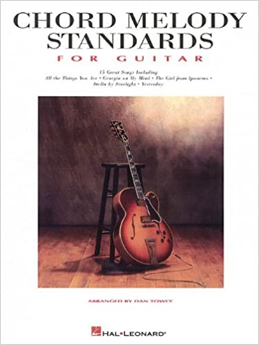 Amazon.com: Chord Melody Standards for Guitar (9780793597284): Dan ...