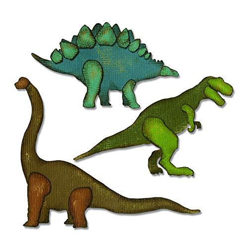 Sizzix 664155 Prehistoric Dies One Size ()