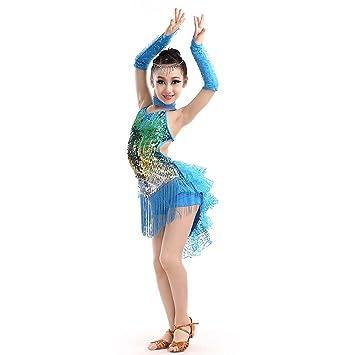 Amazon.com: Trajes de danza para niños, niñas con ...