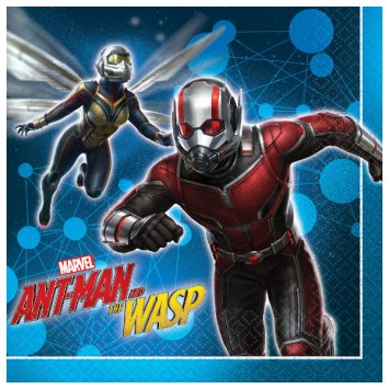American Greetings Ant-Man and The Wasp Lunch Napkins, 16-Count ()