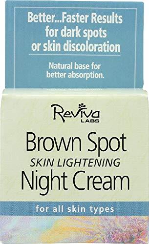 - Reviva Labs (NOT A CASE) Brown Spot Skin Lightening Night Cream