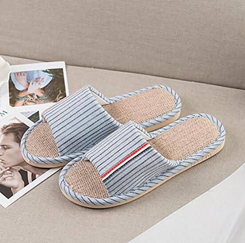 Indoor House Bathroom Couple 38 Pink Slip Shoes Women's 37 Anti Slippers Flops Thick Flip Blue Bottom Bedroom CdWAcqnEc