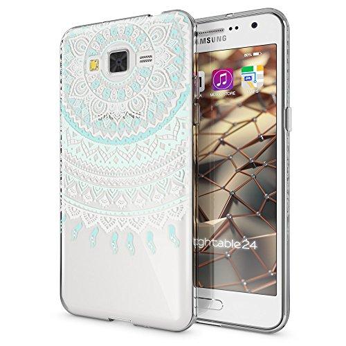 Shockproof Hybrid TPU Case for Samsung Galaxy Grand Prime (Black/Grey) - 6