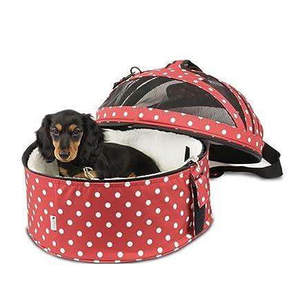 Bolso - Cama -Transportín Coche Perros y Gatos 3 en 1 Todo lo Que Necesita