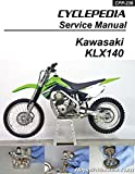 CPP-236-P Cyclepedia Kawasaki KLX140 Motorcycle Manual - Printed