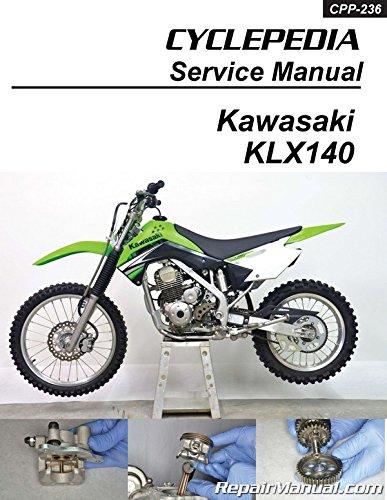 CPP 236 P Cyclepedia Kawasaki KLX140 Motorcycle Manual