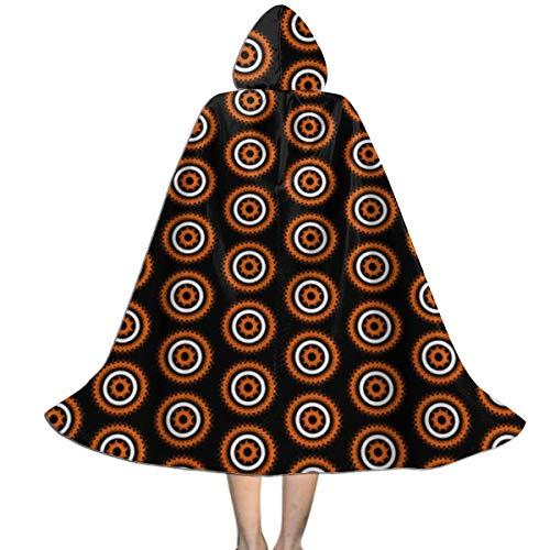 Gossip Girl Halloween Costume (Unisex Hooded Cape Cloak Halloween Gossip Spinners Kids Cloak with Hood Party Costumes for Halloween Christmas)