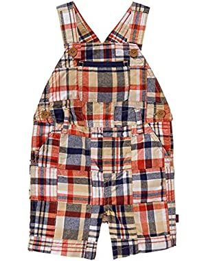 Baby Girls' Toddler Boys' Patchwork Overall