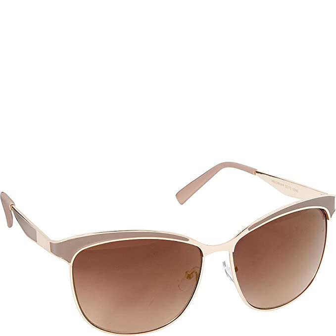 d01b000a25 Circus by Sam Edelman Sunglasses Cat Eye Sunglasses (Gold Nude ...