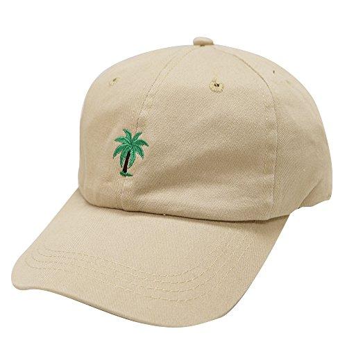 City Hunter C104 Palm Tree Summer Cotton Baseball Cap 15 Colors