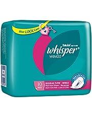 Whisper Regular Flow Wings Sanitary Pads