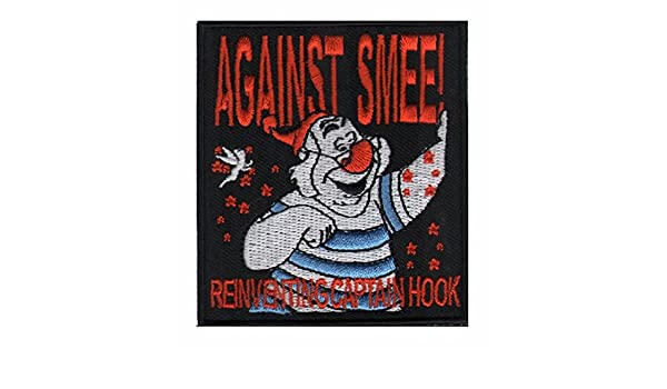 AGAINST SMEE EMBROIDERED IRON ON PATCH BY TOXIC TOAST RECORDS