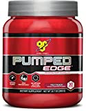 BSN 30 Servings Pumped Edge Pre-Workout Powders, Fruit Punch, 360 Gram