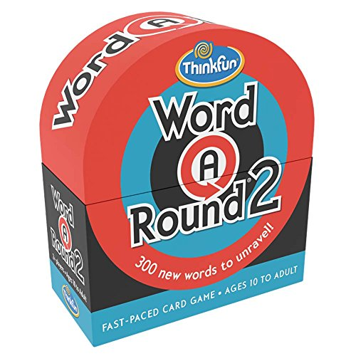 ThinkFun Word a Round 2 Game - Fun Card Game For Age 10 and Up Where You Race to Unravel the Word!