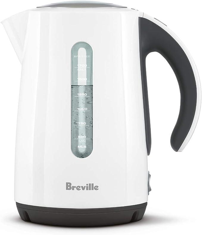 Breville VKJ822X Wasserkocher Kontrollampe Kalkfilter 2400 Watt 1,7 Liter Blau