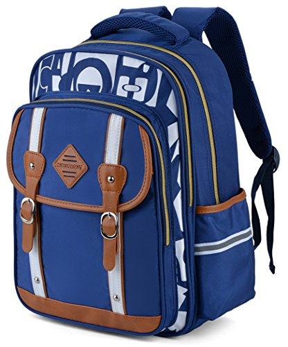 Backpack Kid,Bageek School Bags Backpacks for School Bookbag Rucksack Backpack Waterproof Backpack(blue) by Bageek (Image #7)