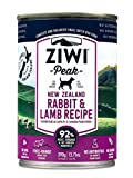 Ziwi Peak Canned Rabbit & Lamb Dog (12 Pack, 13.75...