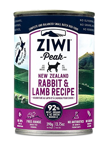 Ziwipeak Air (Ziwi Peak Canned Rabbit & Lamb Dog (12 Pack, 13.75 oz. each))