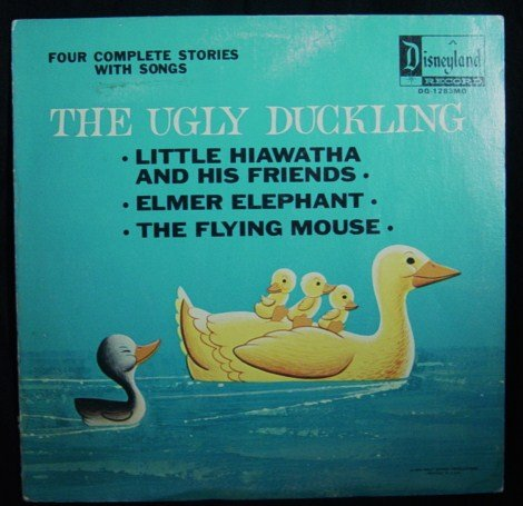 Disney's The Ugly Ducking, Little Hiawatha And His Friends, Elmer Elephant, The Flying Mouse (Vinyl LP)