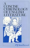 img - for A Concise Chronology of English Literature(Hardback) - 1986 Edition book / textbook / text book