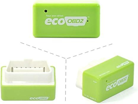 Leslaur Eco OBD2 Centralina Risparmio Carburante Benzina Economica Centralina aggiuntiva per Benzina
