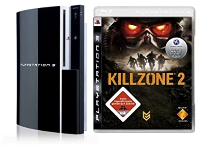 1cdc2045de PlayStation 3 - Konsole 80 GB inkl. Dual Shock 3 Wireless Controller +  Killzone 2