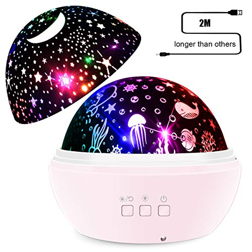 Lights Projector Multiple Colors Rotating