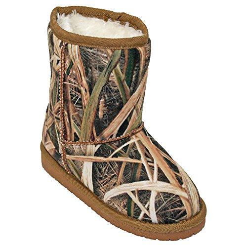 DAWGS Mossy Oak Boot , SG Blades, 10/11 M US Little Kid