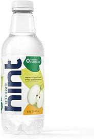 Hint Water Crisp Apple, (Pack of 12) 16 Ounce Bottles, Pure Water Infused with Crisp Apple, Zero Sugar, Zero Calories, Zero