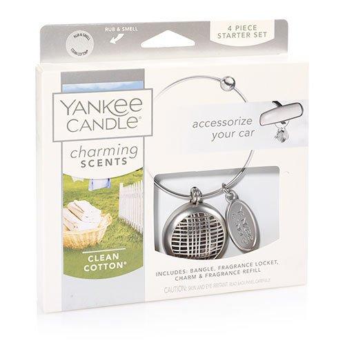 Yankee Candle CleanコットンCharming Scentsスターターキット、新鮮な香り B01N5QOTMR