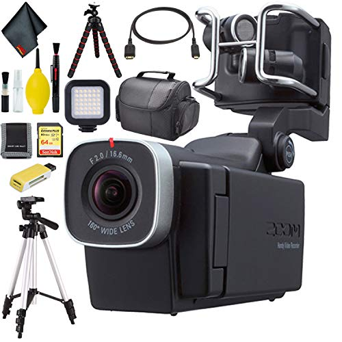 Zoom Q8 Handy Video Recorder Pro Bundle
