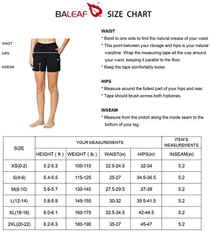 "BALEAF Women's 5"" Casual Jersey Cotton Shorts Lounge Yoga Pajama Walking Shorts with Pockets Activewear"