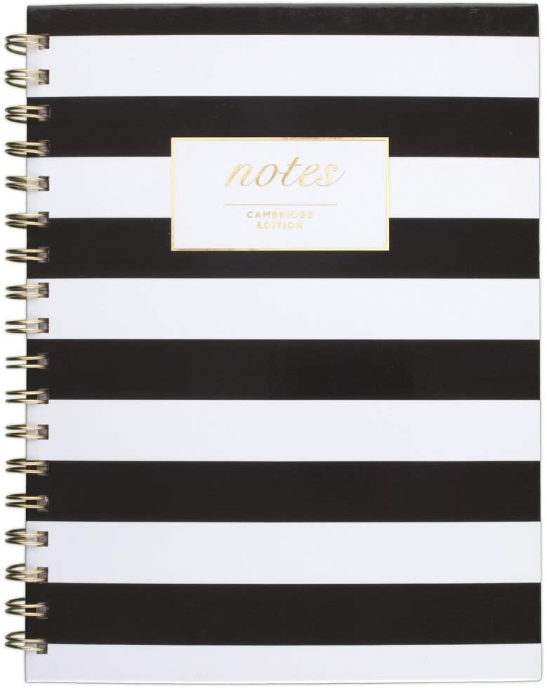 Cambridge Business Notebook, Hardcover, 80 Sheets, 9-1/2 x 7
