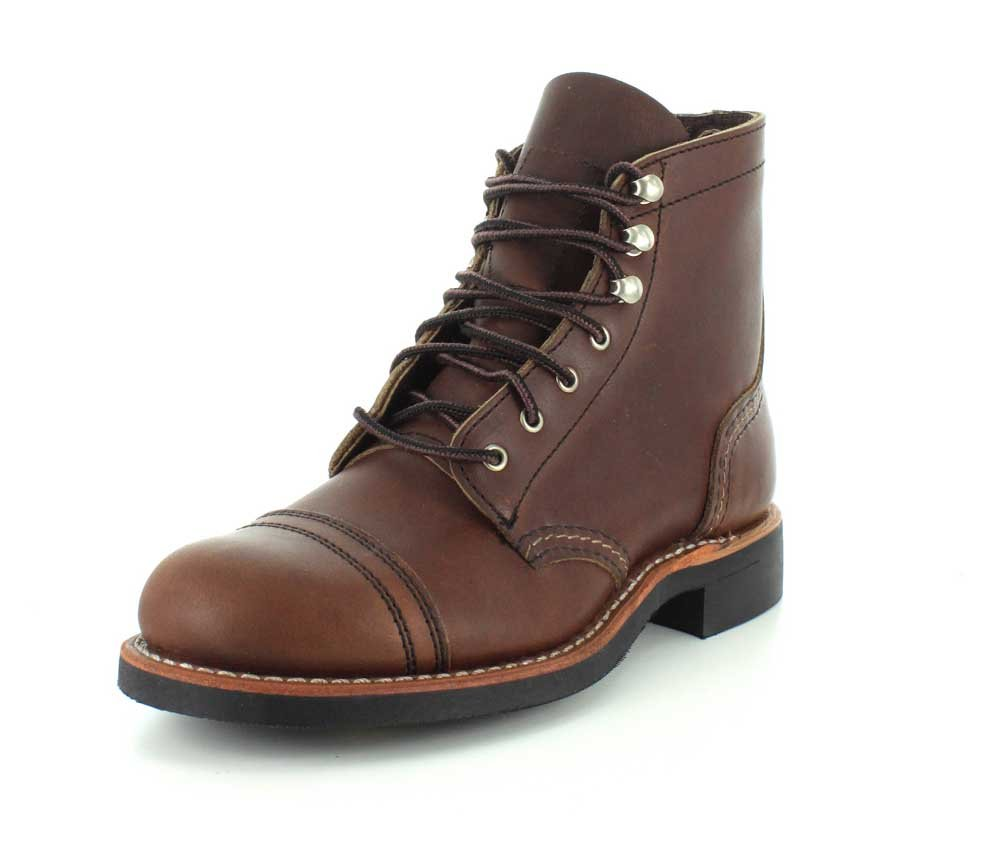 Red Wing 19596 Womens Wing Iron Ranger 3365 Leather Iron Boots Amber fc00017 - fast-weightloss-diet.space