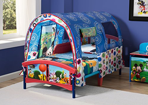 Delta Children Toddler Tent Bed, Disney Mickey Mouse 4