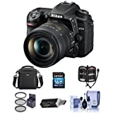 Nikon D7500 DSLR with AF-S DX NIKKOR 16-80mm f/2.8-4E ED VR Lens - Bundle with 16GB SDHC Card, Camera Bag, Cleaning Kit, Card Reader, 72mm Filter Kit,
